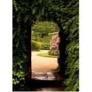 Doorkijk groene poort