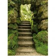 Doorkijk via een japanse trap